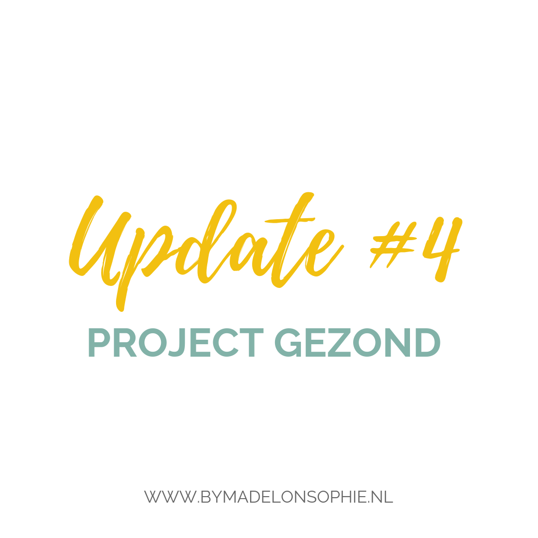 project gezond update by madelon sophie